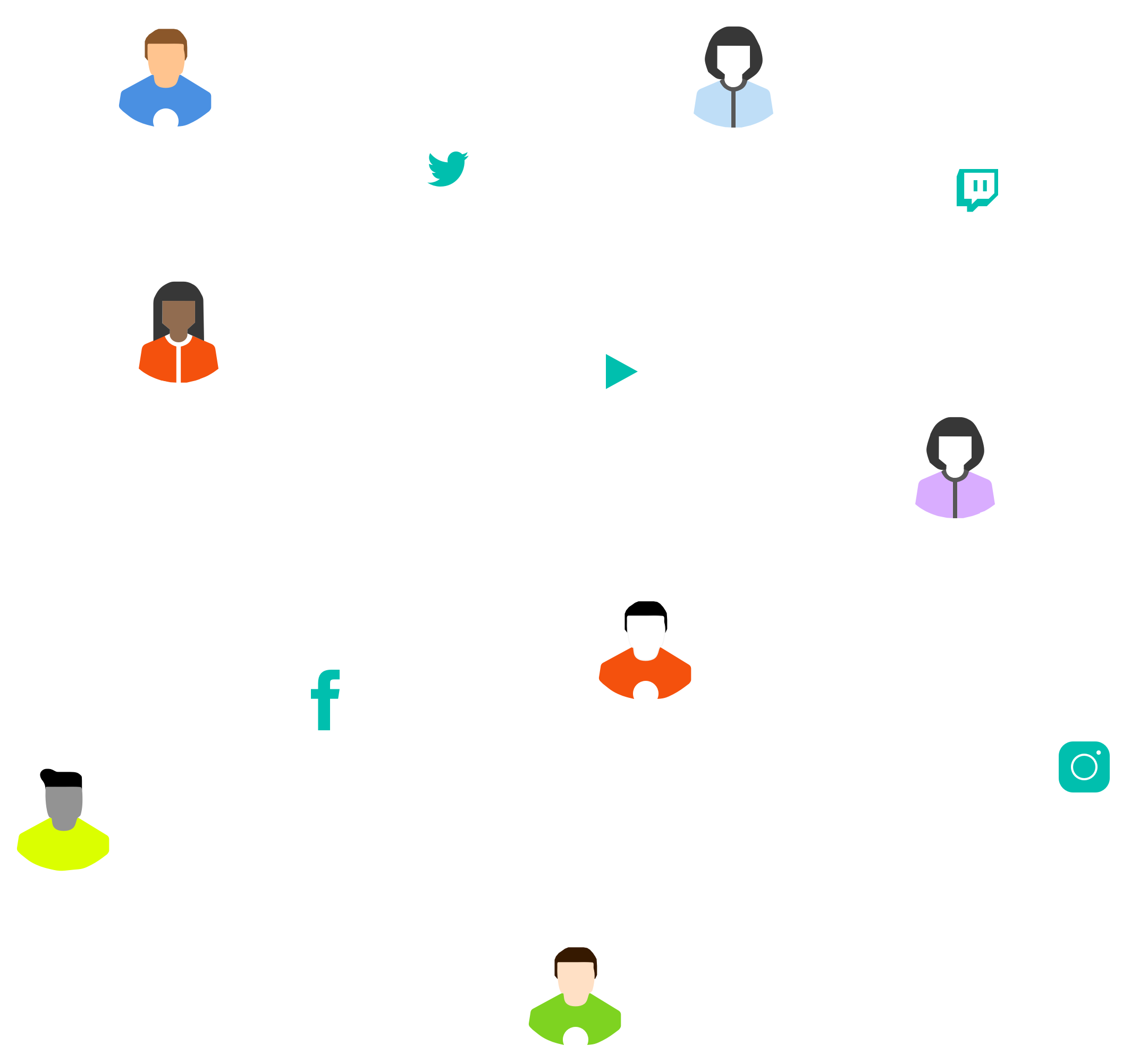Creator Network Graphic